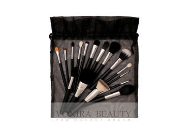 China Professional Makeup Brush Collection With String Closure Makeup Bag factory