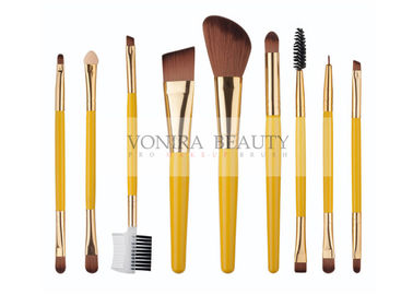 China Double Ended Professional Mass Level Makeup Brushes Set Customized factory