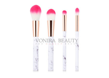 China Exquisite Marble Handle Maquiagem Facial Mass Level Makeup Brushes factory