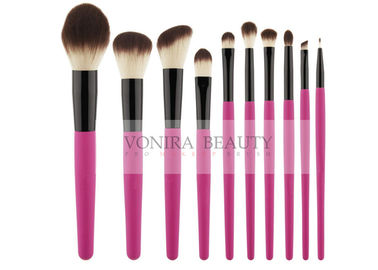 China Splendid Hotest  Synthetic Makeup Brushes Fantastic Pink Handle factory