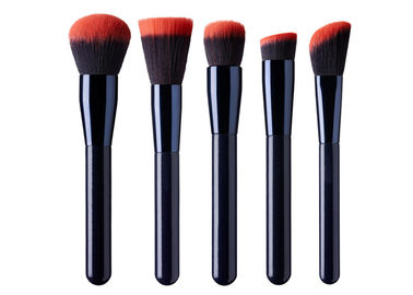 12 Pieces Premium Synthetic Hair Makeup Brushes Set With Pink Hair Tips